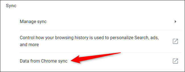 Click Data from Chrome Sync