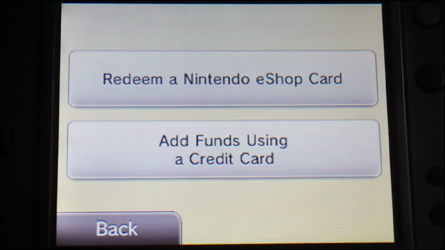 nintendo 3ds add funds