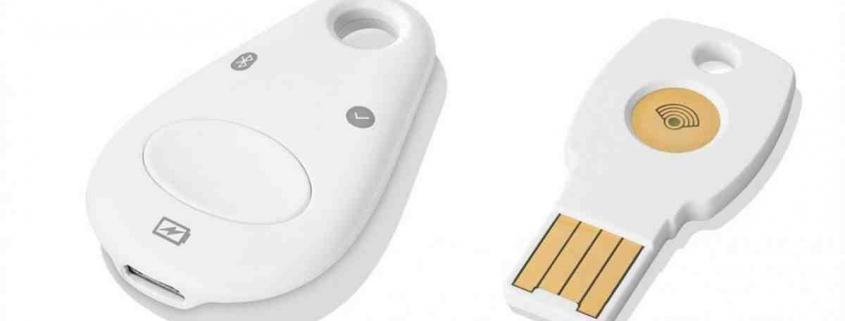 Google key Titan